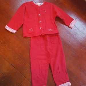 Two piece 24 Month Girl Set